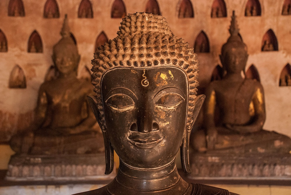 Laos' famous Buddhist wat, Wat Sisaket