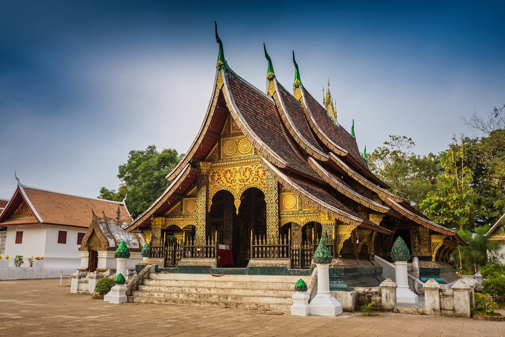 Wat Xieng Thong, a historical temple located in Luang Prabang
