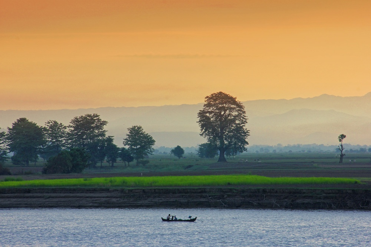 Beautiful Myanmar and its surroundings
