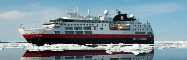Cruising to Antarctica on a ship with GLP Worldwide and Hurtigruten