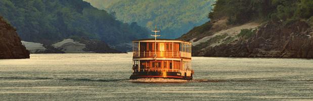 Pandaw river cruising in Burma