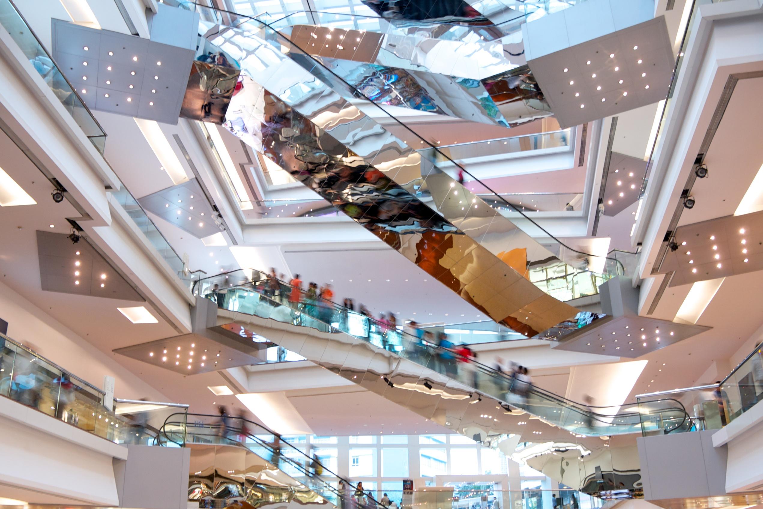 Shopping at boutiques and malls in Hong Kong