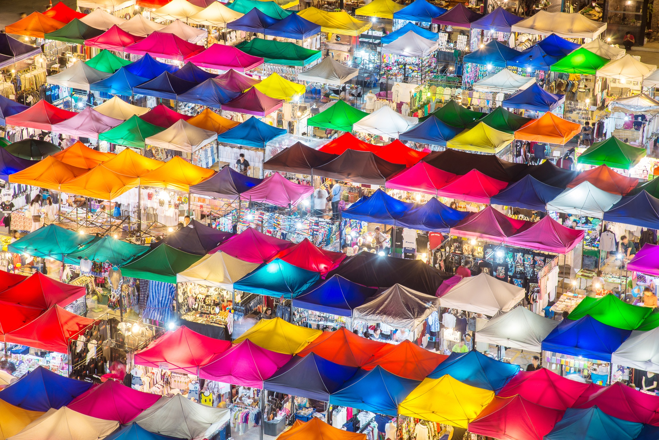 Markets in Asia