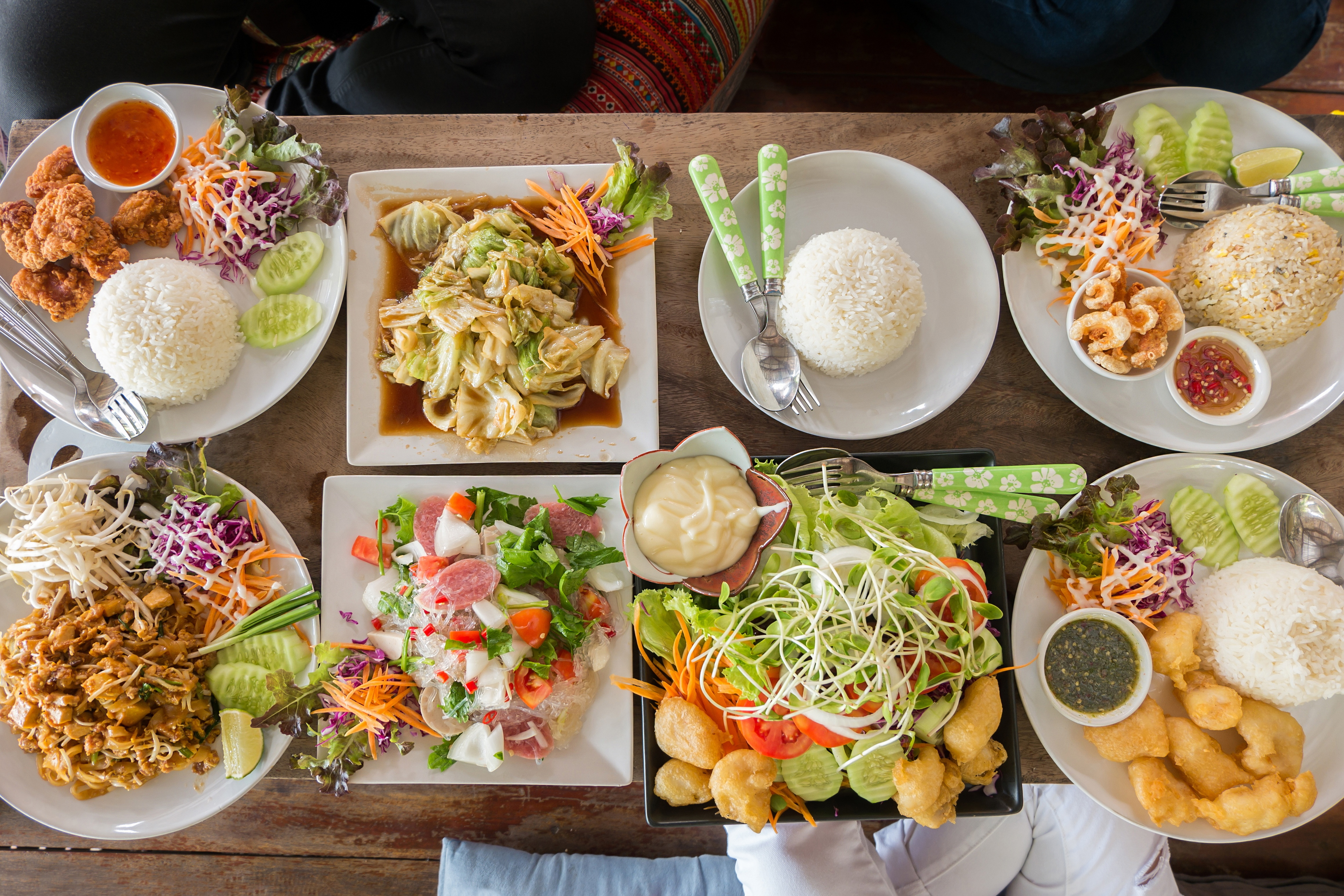 The best food in Thailand